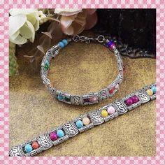 "NWOT Fashion MULTI-COLOR Beads & SILVER Bracelet NWOT Fashion MULTI-COLOR Turquoise Beads & SILVER Bracelet W/ 2"" Chain Extender MATERIAL:  Multi-Color Turquoise Beads & Alloy. LENGTH: 7.5"" + 2"" Chain Jewelry Bracelets"