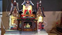 Released in Europe and USA in this item is now available in Australia and will make a welcome addition to your Christmas Village display. Christmas Village Display, Table Lamp, Holiday, Europe, Australia, Usa, Home Decor, Lamp Table, Vacations