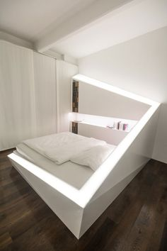 ICE BED made of Corian by Who Cares Design
