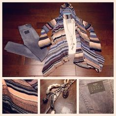 Goddis is Love! #perle #sonoma #goddis #sweater #winter #fashion #style #denim #citizensofhumanity #grey