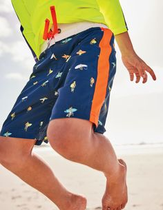 Kids This Planet is Getting Hotter Than Tom Hiddleston Solid Board Slim Fit Pocket Swim Shorts