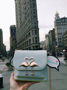 "#MicaelaErlanger - STYLIST /  New York, USA / Charm of Wisdom: ""Love NYC and love the Flatiron building!"""