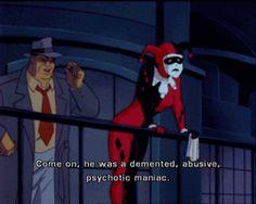 batman: the animated series batman the joker dc joker comics harley quinn dc comics the animated series Laughing Fish