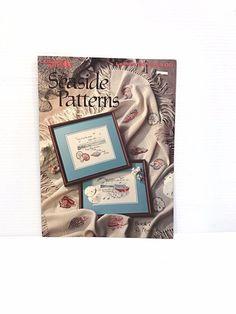 SEASIDE CROSS STITCH PATTERN, BEACH cross stitch, seashell, counted cross stitch #LeisureArts