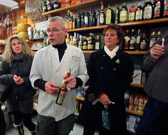 Learning about balsamic vinegars
