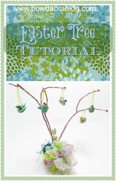 Easter Tree Tutorial