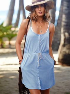 Vestidos casuales de moda   Colección vestidos de playa Victoria´s Secret