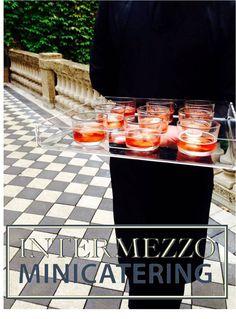 #Catering con servizio #cocktail #party per Borbonese.  Press presentation ss15, via Monte di pietà, Milano. 20 settembre 2014