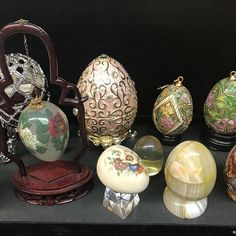 With Easter coming we are in an egg-cellent mood. at our upcoming See link in bio for location and schedule. Schedule, Christmas Bulbs, Egg, Auction, Easter, Mood, Holiday Decor, Link, Home Decor