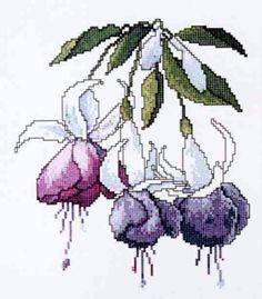 Cross Stitch Love, Cross Stitch Flowers, Cross Stitch Designs, Cross Stitch Patterns, Needlepoint Stitches, Needlework, Cross Stitching, Cross Stitch Embroidery, Colorful Backgrounds