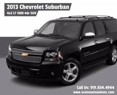 2013 Chevrolet Suburban 4x2 LT 1500 4dr SUV Click here to check this car http://www.econoautosalesnc.com//2013_Chevrolet_Suburban_Raleigh_NC_6643395.veh #Car #Photo #Supercar #Cars #Sportcar #Insurance #Auto #News #Automotive #CarCare #Servicing #Maintenance #Affordable #sellmycar #Trademycar #EconoAuto #Chevrolet #Suburban