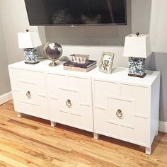"226 Likes, 9 Comments - O'verlays (@myoverlays) on Instagram: ""Love the Harper O'verlays on this ikea Besta unit by @jholmesspringer it's truly one of the best of…"""