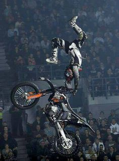 X games motorcycle... When I'm bigger ill be able to do that!
