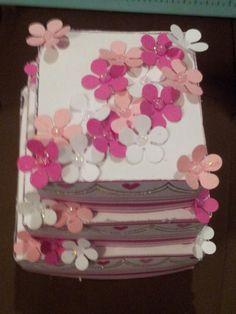 5of5 paper wedding cake