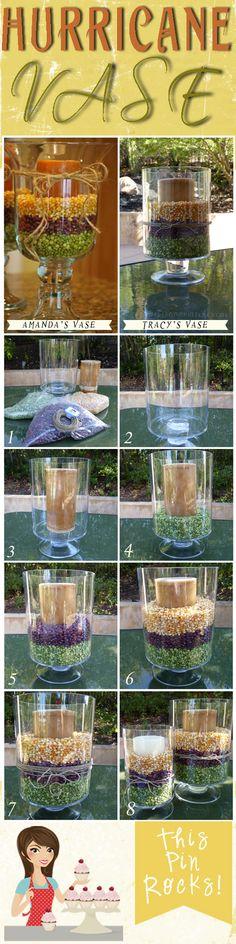 Hurricane Vase  #Decor #Hurricane Vase