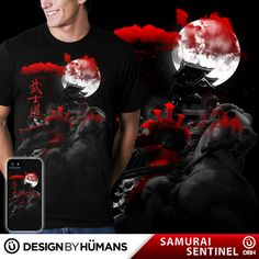 Check out this awesome design #SAMURAI #SENTINEL available now exclusively @designbyhumans  Get it here: http://www.designbyhumans.com/shop/t-shirt/samurai-sentinel/36702/ This epic design is also available as #Iphone and #Samsung #Galaxy #cell #cases , #tank #tops , #sweatshirts and #wall #prints. Nab yours today #tshirts #tees #clothing #apparel #fashion #design #designbyhumans #dbh #dbhtees #tshirt #tees #graphics #samurai #japanese #tshirt #tshirts