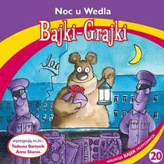 "Bajki-Grajki nr 20 ""Noc u Wedla""  Ilustracja: Marcin Bruchnalski  www.bajki-grajki.pl"