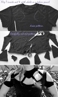 T-Shirt DIY easy peasy, right? *fails a bunch of times* *flips tables*                                                                                                                                                       More