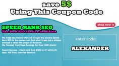 speed rank seo coupon