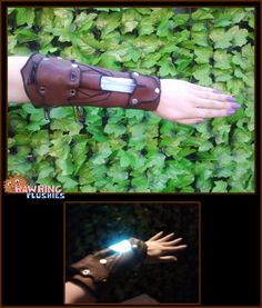This Bracer Will Illuminate Your Path In The Darkest Of Dungeons