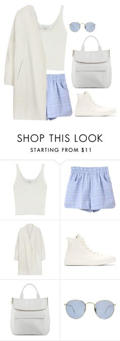 """""""Untitled #6494"""" by heynathalie ❤ liked on Polyvore featuring 3.1 Phillip Lim, Whistles and Ray-Ban"""