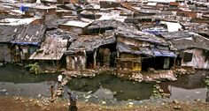 Slums of Mumbai- no one ever thinks about traveling here, but to do so would be a life changing experience