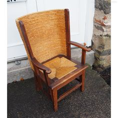 Superb Early 1900's Childs Oak Orkney Chair - Antiques Atlas Armchair, Chairs, The Originals, Antiques, Children, Furniture, Color, Home Decor, Sofa Chair