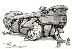 concept ships: Spaceships by Jeff Zugale