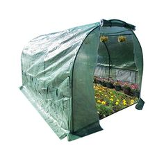 Larger Walk In Outdoor Plant Gardening Greenhouse with Mesh Cover Window Flaps 10X7X6 *** Read more  at the image link. (This is an Amazon affiliate link and I receive a commission for the sales and I receive a commission for the sales)
