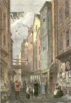 Field Lane, the location of Fagin's den, was only minutes away from Dickens's home in Doughty Street when he was writing Oliver Twist.