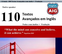 Baixar os 110 Textos Avançados em Inglês com áudio + PDF