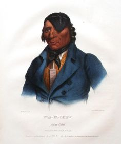 Sioux Indian Chief Wabasha