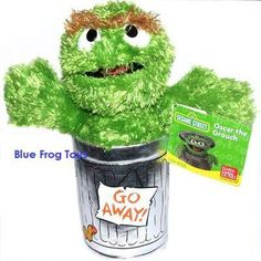 I have this one!  33cm Oscar The Grouch Sesame Street Soft Toy