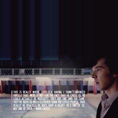 Mark Gatiss on Sherlock + Moriarty