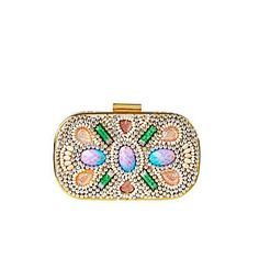 Sparkly clutch from River Island for SS12