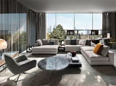 Minotti furniture: when Italian design becomes international Interior Design Living Room, Living Room Designs, Luxury Furniture, Furniture Design, Minotti Furniture, Smart Furniture, Wooden Furniture, Living Room Furniture, Living Room Decor