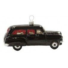 1950s Retro Hearse Ornament