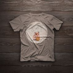 T-Shirt  Sweet dreams  Little mouse with choco by SparaFuori