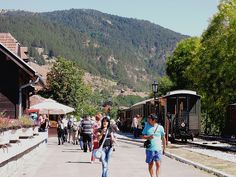 """Sargan Eight Railway: """"Encompassing numerous switchbacks, tunnels and bridges, in just a few kilometres, this railway at Mokra Gora is an exhilarating ride."""" Serbia: The Bradt Guide www.bradtguides.com"""