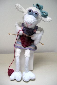 Sweetheart Sheep. I just found this designer and I just LOVE his cute little creatures!!!! Price:£2.50