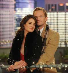 how i met your mother - Robin and Barney <3