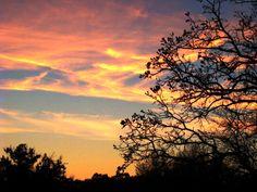 Wisconsin October sunset