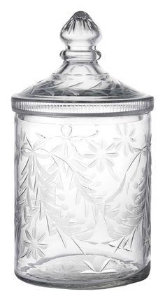 Glasburk Pembroke, vacker glasburk med elegant dekor