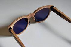 MÛ 'Contortionist' – wood sunglasses by MÛ Visions » Retail Design Blog