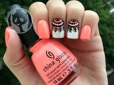 Looking for new nail art ideas for your short nails recently? These are awesome designs you can realistically accomplish–or at least ideas you can modify for your own nails! Cute Pink Nails, Cute Nail Art, Fancy Nails, Beautiful Nail Art, Love Nails, Pretty Nails, My Nails, White Nails, Nail Black