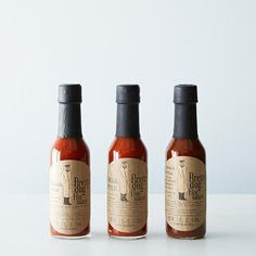 Louisana, Greek & Mole Hot Sauce Trio on Provisions by Food52