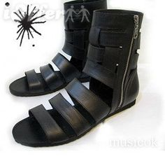 .yasuhiro mihara mens sandals are perfect