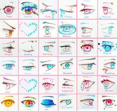 +Eye Sheet - Full 1+ by larienne on DeviantArt