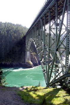 Deception Pass, Whidbey Island, WA...more beautiful than any picture can capture.