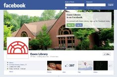 Like us on Facebook!  View pictures and find information about all the exciting happenings at the Essex Library!